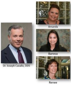 Dr. Cavallo; Amanda; Baneza; Renee