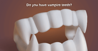 Reshape Your Vampire Fangs With Tooth Recontouring